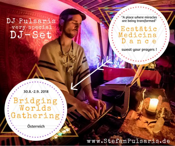 DJ Pulsaris at Bridging Worlds